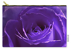 Dark Secrets Purple Rose Carry-all Pouch