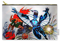 Darkhawk Vs Hobgoblin Focused Carry-all Pouch