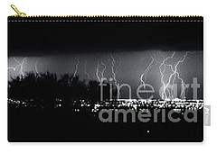 Darkness Symphony-15x72-signed Carry-all Pouch