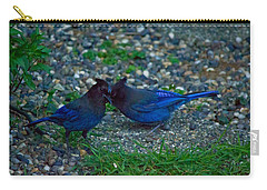 Darling I Have To Tell You A Secret-sweet Stellar Jay Couple Carry-all Pouch