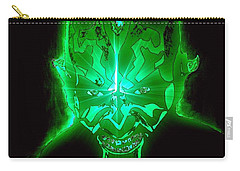 Darth Maul Green Glow Carry-all Pouch