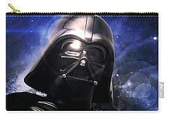 Carry-all Pouch featuring the photograph Darth Vader by Aaron Berg