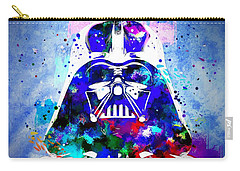 Darth Vader Star Wars Carry-all Pouch by Daniel Janda