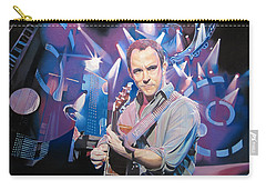 Dave Matthews And 2007 Lights Carry-all Pouch by Joshua Morton