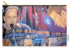 Dave Matthews And Tim Reynolds At Radio City Carry-all Pouch by Joshua Morton