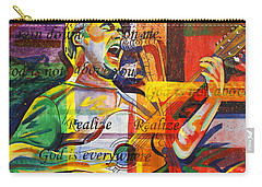 Dave Matthews-bartender Carry-all Pouch by Joshua Morton