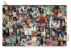 David Bowie Collage Carry-all Pouch