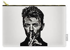 David Bowie - Pencil Carry-all Pouch by Doc Braham