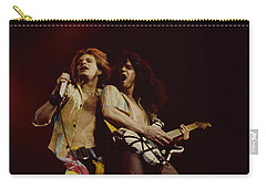 David Lee Roth And Eddie Van Halen - Van Halen- Oakland Coliseum 12-2-78   Carry-all Pouch
