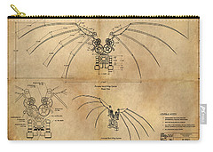 Davinci's Wings Carry-all Pouch
