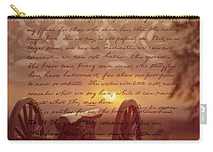 Dawn At Gettysburg Carry-all Pouch