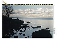 Carry-all Pouch featuring the photograph Dawn At The Cove by James Peterson