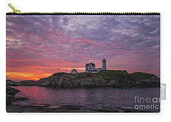 Dawn At The Nubble Carry-all Pouch by Steven Ralser