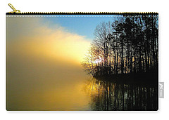 Dawn At Waters Edge Carry-all Pouch