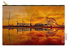 Dawn At Wildwood Pier Carry-all Pouch