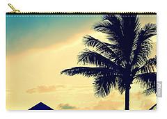Dawn Beach Pyramid Carry-all Pouch