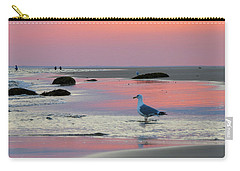 Dawn In Pink Carry-all Pouch by Dianne Cowen