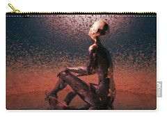Carry-all Pouch featuring the digital art Dawn by John Alexander