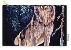 Carry-all Pouch featuring the painting Dawn Of A New Day Original Painting Forsale by  Nadine Johnston