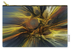 Carry-all Pouch featuring the digital art Dawn Of Enlightment by David Lane