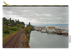 Day Island Bridge View 3 Carry-all Pouch