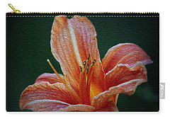 Day Lily Rapture Carry-all Pouch