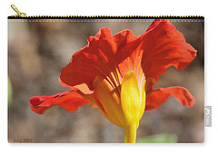 Carry-all Pouch featuring the photograph Day Time by Larry Bishop