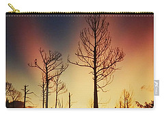 Daybreak After Hurricane Andrew Carry-all Pouch by Belinda Lee