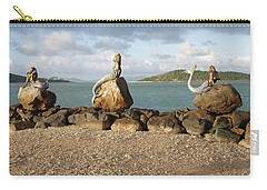 Carry-all Pouch featuring the photograph Daydream Mermaids by Absinthe Art By Michelle LeAnn Scott