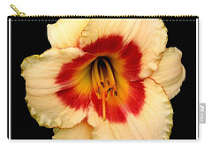 Carry-all Pouch featuring the photograph Daylily 3 by Rose Santuci-Sofranko