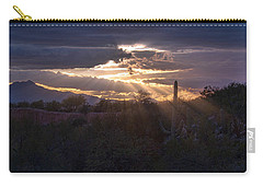 Carry-all Pouch featuring the photograph Days End by Dan McManus