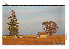Carry-all Pouch featuring the photograph Days End by Mary Carol Story