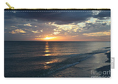 Days End Over Sanibel Island Carry-all Pouch by Christiane Schulze Art And Photography