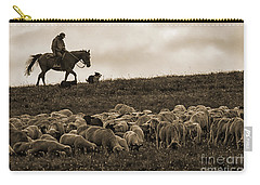 Days End Sheep Herding Carry-all Pouch