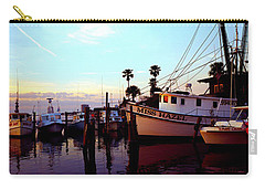 Carry-all Pouch featuring the photograph Daytona Beach Fl Last Chance Miss Hazel And Sonny Boy by Tom Jelen