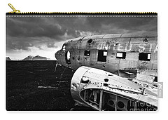 Dc-3 Iceland Carry-all Pouch by Gunnar Orn Arnason