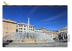 De Ferrari Square - Genova Carry-all Pouch by Antonio Scarpi