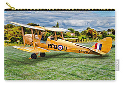 De Havilland Dh82 Tiger Moth Carry-all Pouch
