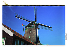 De Zoeker Blue Skies Carry-all Pouch by Jonah  Anderson