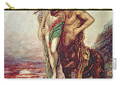 Dead Poet Borne By Centaur Carry-all Pouch by Gustave Moreau