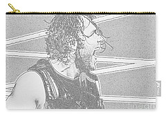Dean Ambrose Carry-all Pouch by Paul  Wilford