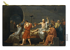 Death Of Socrates Carry-all Pouch