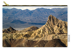 Death Valley Np Zabriskie Point 11 Carry-all Pouch