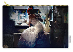 Carry-all Pouch featuring the digital art Decade Dance by Galen Valle