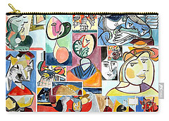 Deconstructing Picasso - Women Sad And Betrayed Carry-all Pouch