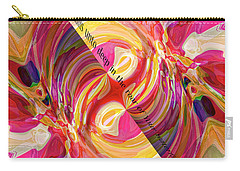 Carry-all Pouch featuring the digital art Deep Calls Unto Deep by Margie Chapman