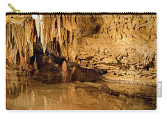 Deep In The Cave Carry-all Pouch by Jonah  Anderson