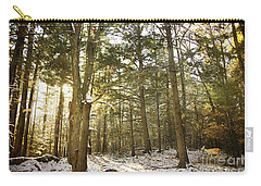 Deep In The Forest Carry-all Pouch by Alana Ranney