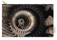 Carry-all Pouch featuring the digital art Deep In Thought by John Alexander