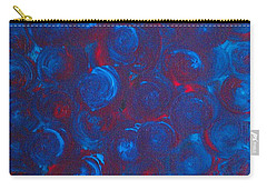 Carry-all Pouch featuring the painting Deep by Jacqueline McReynolds